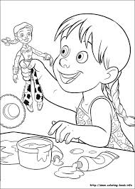 Coloring Page Php Marvelous Toy Story Book