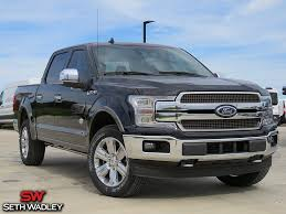 100 Black Ford Truck 2018 F150 King Ranch 4X4 For Sale Pauls Valley OK