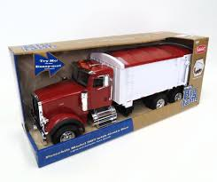 1/16TH BIG FARM PETERBILT 367 TRUCK WITH GRAIN BOX - Merz Farm Equipment
