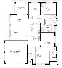 Stunning House Plans With Bedrooms by Stunning House Plans South Fancy 3 Bedroom Africa