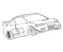 Fast And Furious Cars Coloring Pages