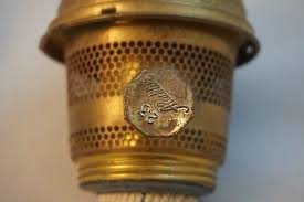 Aladdin Oil Lamps No 23 by Vintage Aladdin No 23 Brass Plated Oil Lamp Burner With Wick