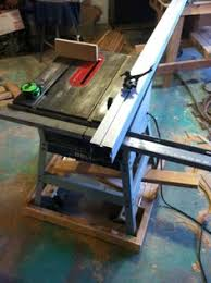 Cabinet Table Saw Mobile Base by Table Saw Upgrades Diy Biesmeyer Fence From Reclaimed 3