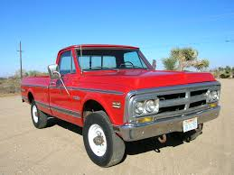 1972 K20 Factory 4x4 Sierra Grande Red