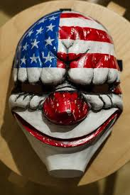 Payday 2 Halloween Masks Disappear by Inspired Payday 2 Payday The Heist Dallas Game Mask Cosplay