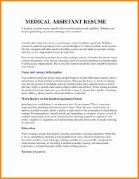 Medical Assistant Resume Examples 36 Luxury Samples Templates
