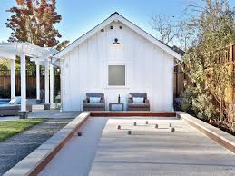 Photo Page | HGTV Bocce Ball Courts Grow Land Llc Awning On Backyard Court Extends Playamerican Canvas Ultrafast Court Build At Royals Palms Resort And Spa Commercial Gallery Build Backyards Wonderful Bocceejpg 8 Portfolio Idea Escape Pinterest Yards