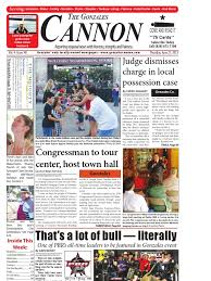 Gonzales Cannon June 27 Issue | Natural And Legal Rights | Politics
