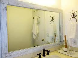 Diy Bathroom Mirror Frame Ideas - New Furniture 21 Bathroom Mirror Ideas To Inspire Your Home Refresh Colonial 38 Reflect Style Freshome Amazing Master Frame Lowes Bath Argos Sink For 30 Most Fine Custom Frames Picture Large Mirrors 25 Best A Small How Builders Grade Before And After Via Garage Wall Sconces Framing A Big Of With Diy Reason Why You Shouldnt Demolish Old Barn Just Yet Kpea Hgtv Antique Round The Super Real