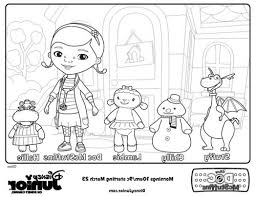 Disney Junior Coloring Pages Free Image To Print