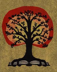 The Black White Tree Design Was Commissioned For A Tattoo Based On Classic Book By Artist Robert Whitmore Frequently Used Bookplates