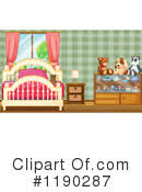 Bedroom Clipart by Clipart Of Bedrooms 1 99 Royalty Free Rf Illustrations