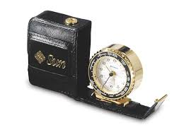 Movado Mini Desk Clock by Clocks With Logo Time Wall Desk Clock Color Logo Full Color