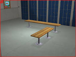 Mod The Sims Testers Wanted As requested Locker Room Benches