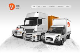 100 Wilson Trucking Company Website Template 37690 Custom Website
