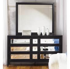 Mirrored Furniture The Reflections Bedroom Set Najarian Regarding