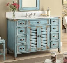 Shabby Chic White Bathroom Vanity by Amazon Com 46 U201d Cottage Look Abbeville Bathroom Sink Vanity Model