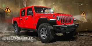 100 Truck Jeep 2019 Wrangler Pickup Renderings Best Look At New