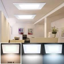 led recessed panel 2000 lumens warm white l 30 cm vt 2407