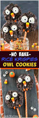 Rice Krispie Halloween Treats Candy Corn by No Bake Rice Krispies Owl Cookies Inside Brucrew Life