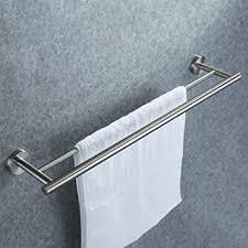 doppelter handtuchhalter dailyart badezimmer handtuchstange