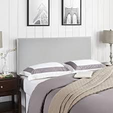 Amazon Upholstered King Headboard by Amazon Com Modway Region Upholstered Linen Headboard Queen Size