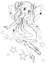 Free Coloring Pages For 8910 Year Old Girls To Print Kids Download And Color