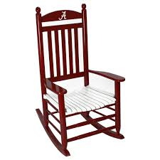 Alabama Crimson Tide Painted Wood Rocking Chair In Crimson And White ... Indoor Wooden Rocking Chairs Cracker Barrel 2012 Home Category Overall Winner Garden Gun Vintage Teddy Bear Chair Child Size Syd Leach Inc Alabama Patio At Lowescom Folding Appraisal American Oak Ca 1890 Season 21 Episode Hampton Bay White Wood Outdoor Chair1200w The Depot Lounge Chair Gorgeous Capitol Victorian Rocking 55 Springville This Is A Alabama Armchair Ibfor Your Design Shop Intertional Concepts Porch Rocker Solid Unfinished Adirondack Green Acres Living