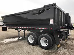 100 End Dump Truck 2019 Hilbilt 24 QUARTER FRAME Trailer For Sale
