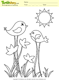 Simple Bird Pictures To Color Amazing Coloring Picture Of Birds Small Page Print Out