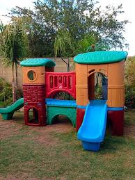 Step2 Playhouses Slides U0026 Climbers by Step2 Clubhouse Climber With 2 Slides Playset Baby U0026 Kids In