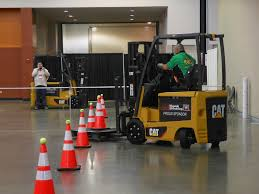 Forklift Rodeo Showcases Need For Skill, Safety And Pacing ... Electric Sit Down Forklifts From Wisconsin Lift Truck Trucks Yale Sales Rent Material Forkliftbay 55000 Lb Taylor Tx550rc Forklift 2007 Skyjack Sj4832 Slab About Us Youtube Vetm 4216 Jungheinrich Forklift Repair Railcar Mover Material Handling In Wi Forklift Batteries Battery Chargers 2011 Hyundai 18brp7 Narrow Aisle Single Reach