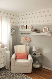 Peach Curtains For Nursery by Yellow And Grey Baby Room Decor Appealing Gray Bedroom Ideas