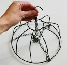 How To Make A Chandilier From Wire Bowl For Girls