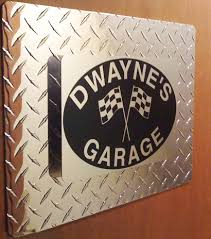 Personalized Garage Signs