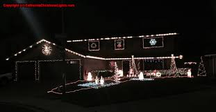 Christmas Tree Lane Turlock Ca by Best Christmas Lights And Holiday Displays In Modesto Stanislaus