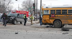 Man Arrested After 100 Mph Chase, Crash With Cedar Rapids School Bus ...