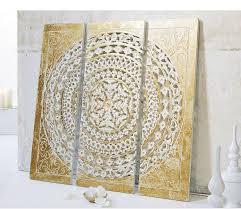 best of home wand objekt ornamentik gold 3 teilig kaufen bei