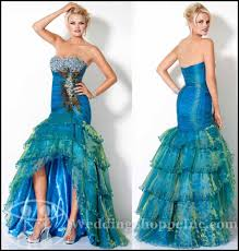 dresse peacock prom dress exotic prom dresses jovani peacock