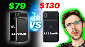 IPhone XS Max | Volt Vs Apple Vs Mophie IPhone Battery Cases