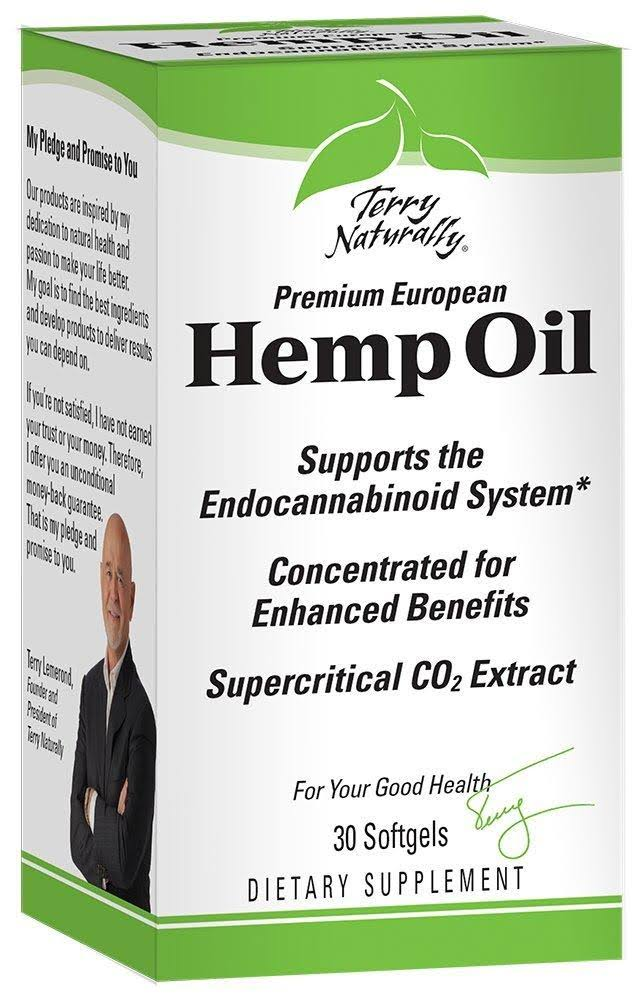 Europharma Terry Naturally Hemp Oil Supplement - 30 Softgels
