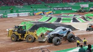 100 Monster Trucks Atlanta Jam 2018 YouTube