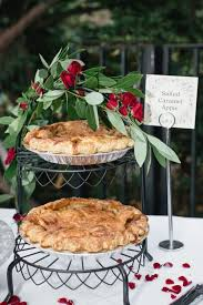 Fall Pies For A Wedding Desserts
