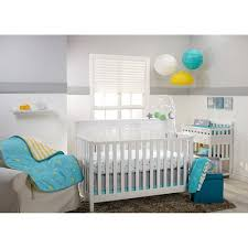 little bedding by nojo twinkle twinkle 3 piece crib set walmart com