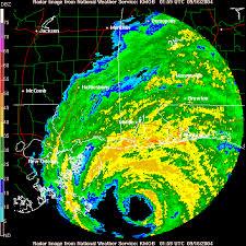 Animated Hourly Radar Loop Of Hurricane Ivan