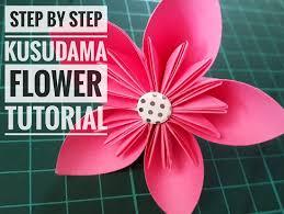 Popular Posts Step By Kusudama Flower Tutorial