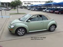 For Sale - $9,995 Pre-owned 2007, Volkswagen, Beetle, VW, Bug ...
