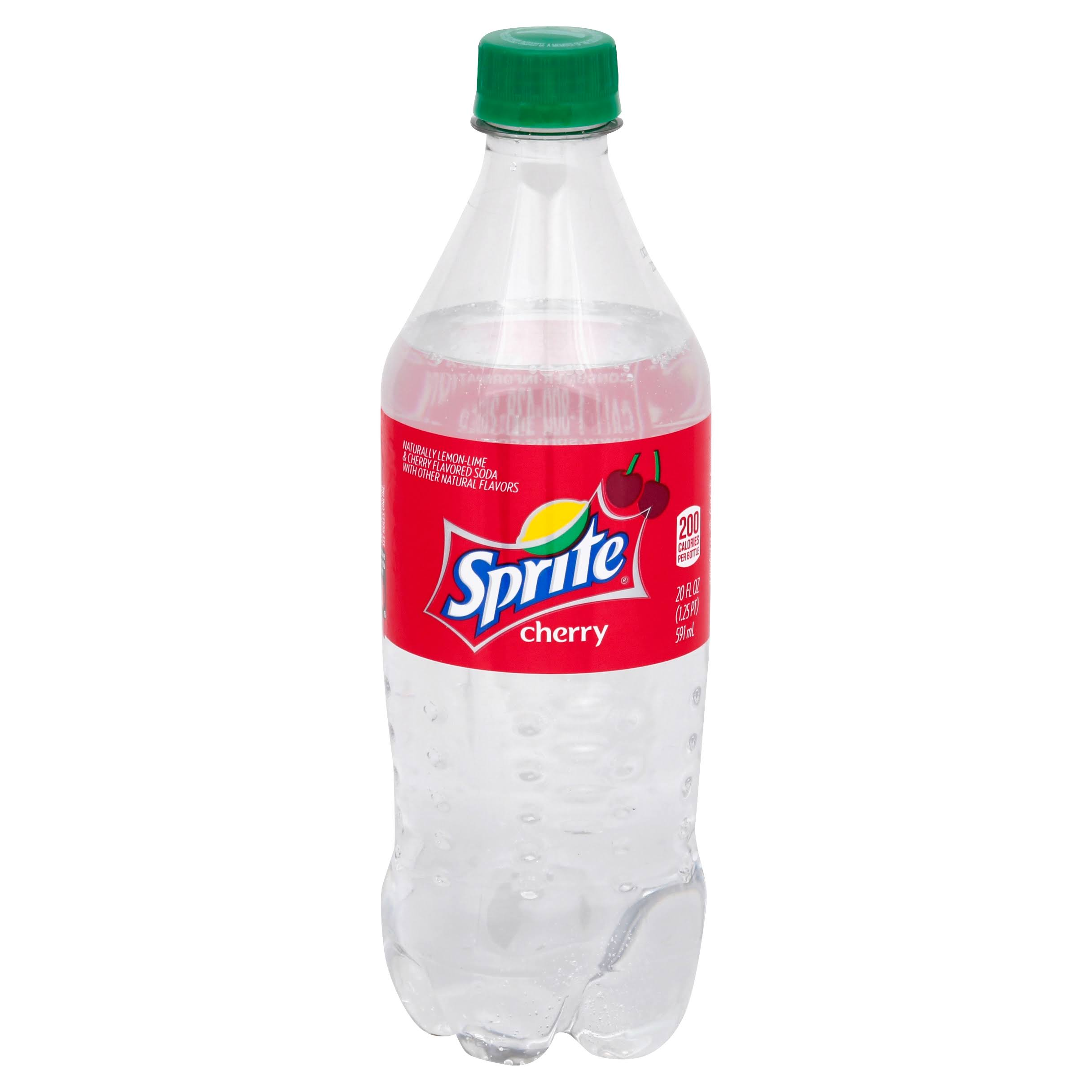 Sprite Soda - Cherry, 20oz