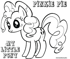 My Little Pony Coloring Pages Page Pinkie Pie Rarity