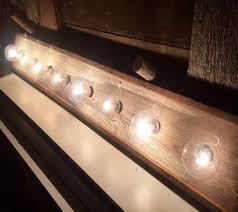 Rustic Barn Bathroom Lights by Bathroom Lighting Outstanding 8 Bulb Bathroom Light Fixture